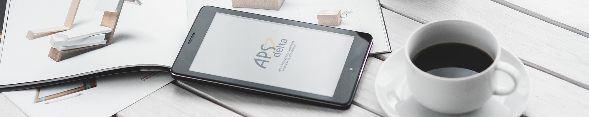 APS Tablet Kaffee